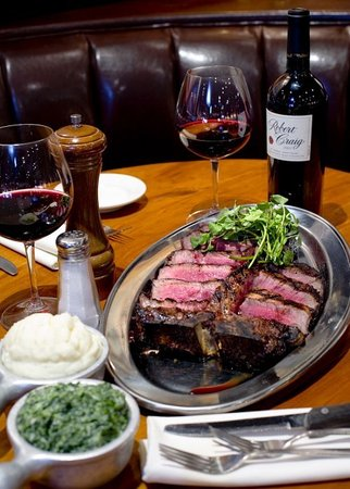 Knickerbocker Bar and Grill: T Bone Steak
