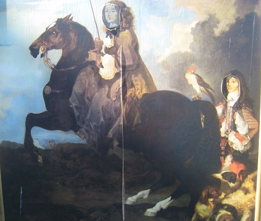 Uppsala, İsveç: Queen Christina on Horseback