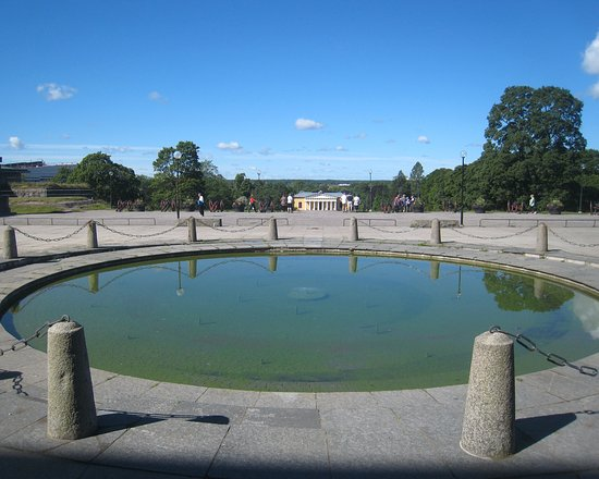 Uppsala, İsveç: Lovely water feature