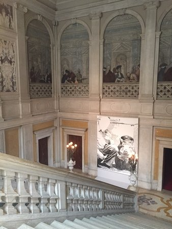 Palazzo Grassi: inside