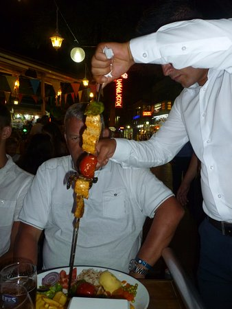 Casablanca Restaurant: Fish Shish