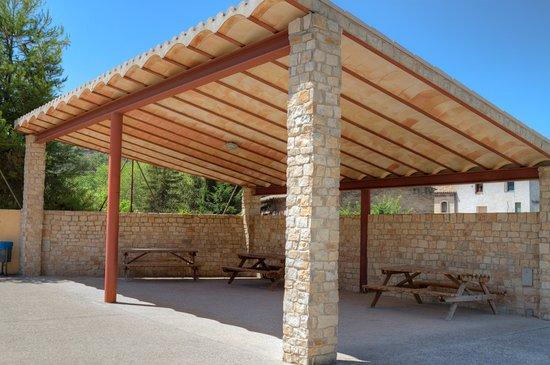 Vallbona De Les Monges, Spagna: Picnic area near Vallbona Monastery