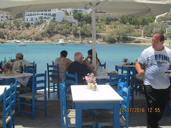 View from Kanavos taverna