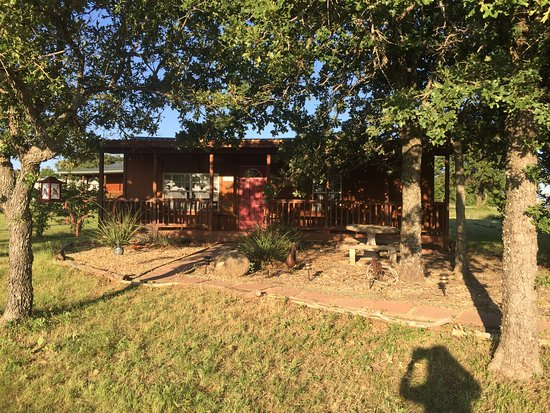 Tolar, TX: Front of the Cabin. This is the smallest one.