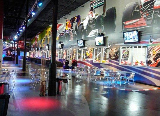 K1 Speed Austin: Lobby