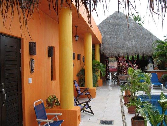 Casita de Maya: Exterior