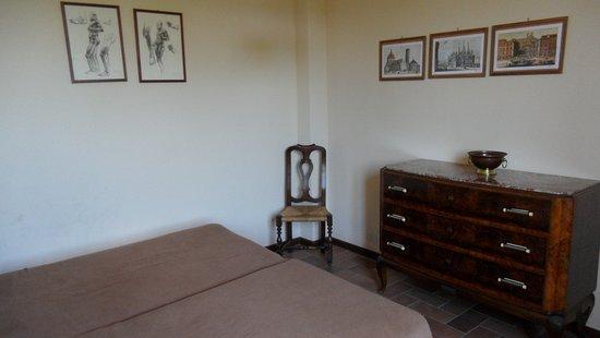 Montespertoli, Italia: La chambre
