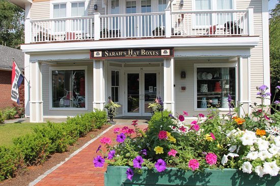 Peterborough, NH: The Outside of our retail store