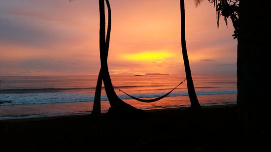 Osa Peninsula, Costa Rica: Prachtige zonsondergang