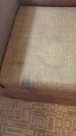 Holiday Inn Express Hotel & Suites Bethlehem Airport - Allentown Area: Gross stains