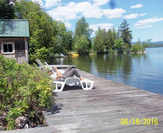 Oquossoc, ME: Beautiful Surrounding Lake