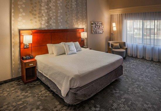 Norman, OK: King Suite Bedroom