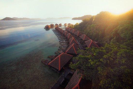Gayana Eco Resort: Landscape View