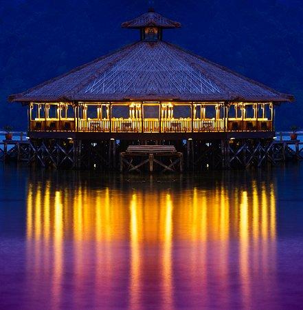Gayana Eco Resort: Alu-Alu Restaurant