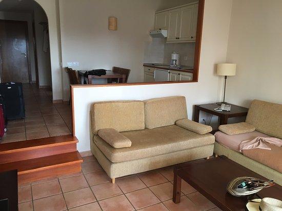 Sotavento Beach Club: Appartment Nr. 27, Essbereich Und Wohnzimmer