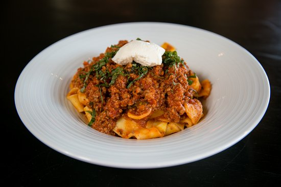 Morristown, Nueva Jersey: Pappardelle Bolognese