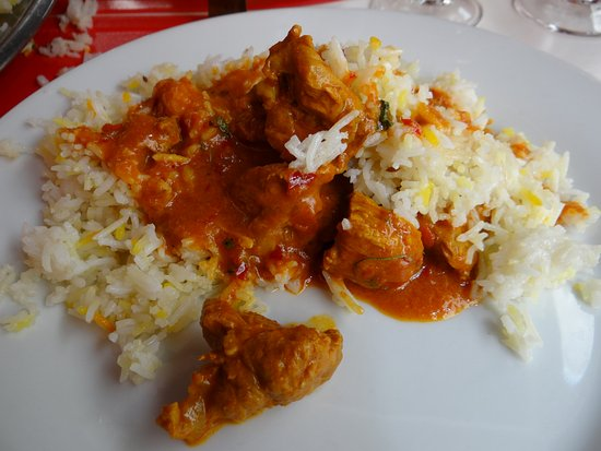 Le Gandhi: agneau au curry