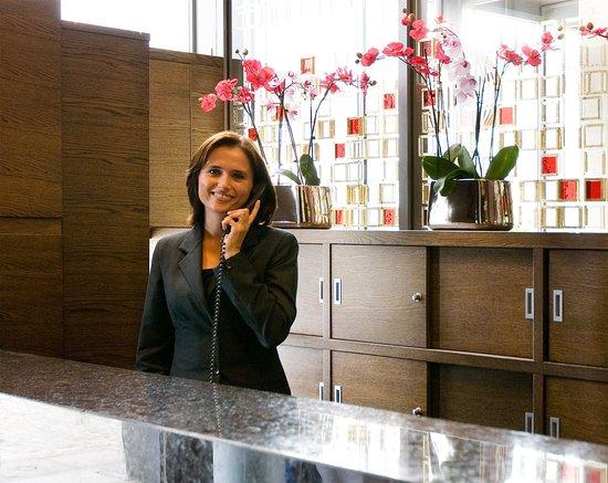 Europeum Hotel: Reception