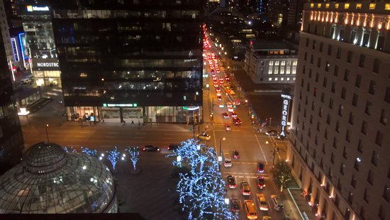 Four Seasons Hotel Vancouver: The view from my room
