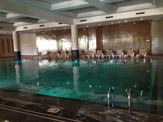 Indoor swimming pool (like a Roman bath house) - Picture of Hotel ...