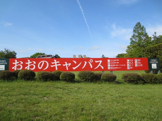 Hirono-cho, Japan: 横看板