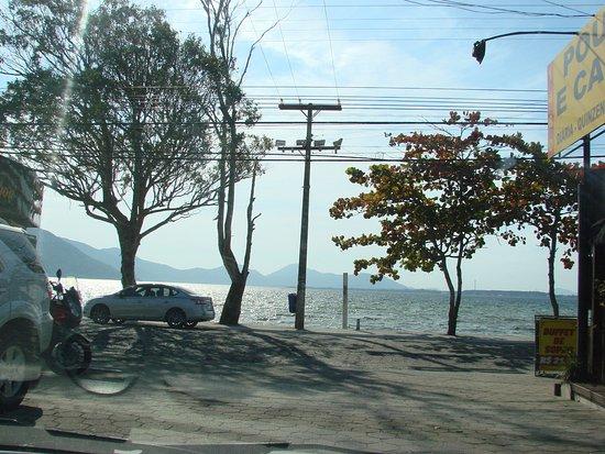 Pousada e Camping Lagoa da Conceicao: Vista em frente a pousada