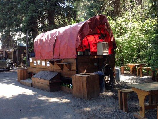 Prospect, OR: Beckie's chuck wagon open Fri, Sat, Sunday.