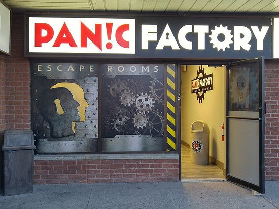 ‪Panic Factory Escape Rooms‬