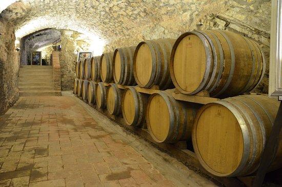 Castello di Meleto: de oude wijnkelder
