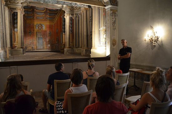 Castello di Meleto: het mini-theater