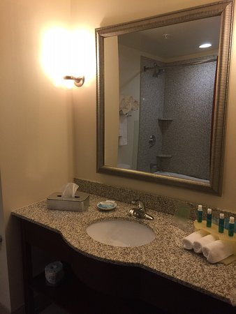 Holiday Inn Express Hotel & Suites Columbus University Area - OSU: Guest Bathroom