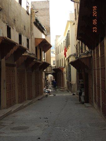 Fondouk Tsetouanien: calles laberínticas