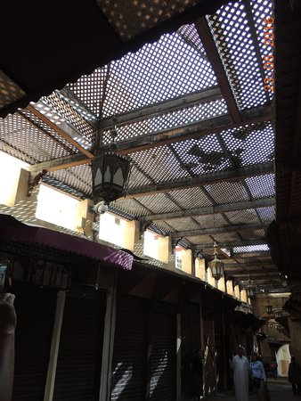 Fondouk Tsetouanien: techos sin sol