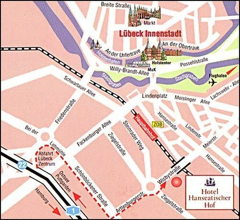 Hotel Hanseatischer Hof: City-Map