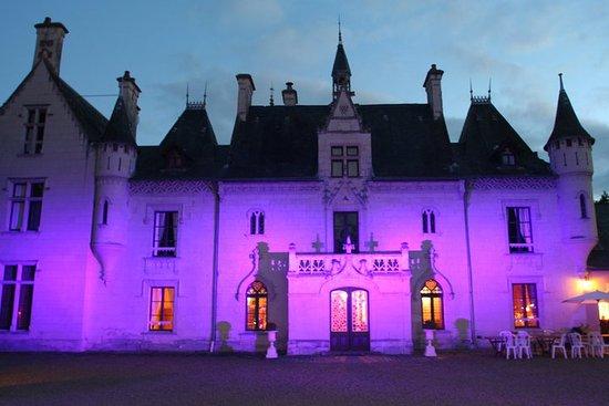 Vivy, Francia: Château de Nazé avec piscine