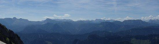 Gostling an der Ybbs, Áo: Panoramablick ca. Südost --> Süd