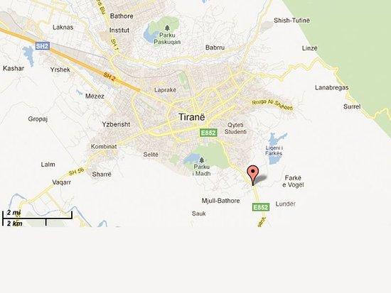 Hotel Baron: Map