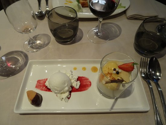 Dessert photo de la grange saint lary soulan tripadvisor - Restaurant la grange saint lary ...