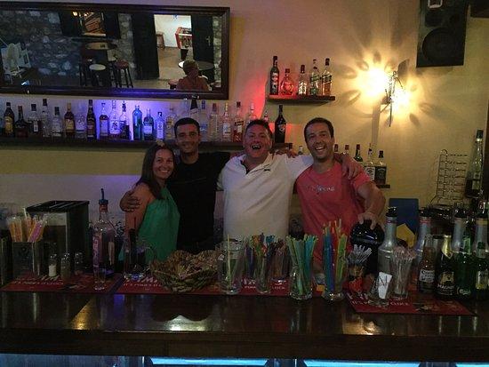 Happy times at Zig Zag bar xx - Picture of Zig Zag Bar Pefkos ...
