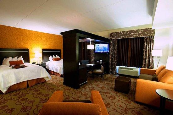 Hampton Inn & Suites Chattanooga / Downtown: Double Queen Studio Suite
