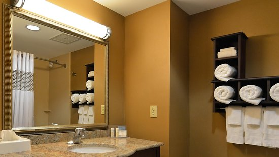 Geneseo, Νέα Υόρκη: Guest Room Bathroom