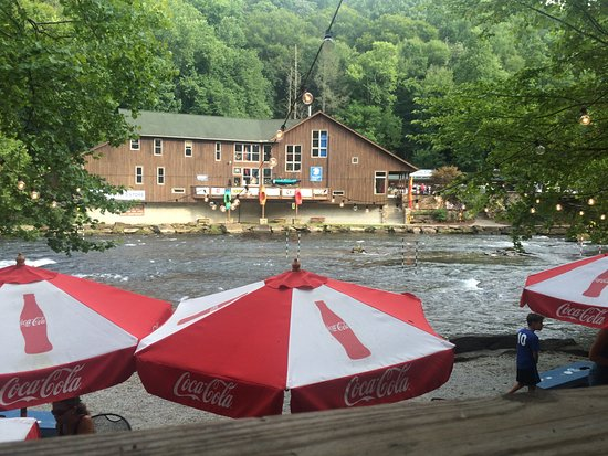 Big Wesser Brew & BBQ: View from Wesser's