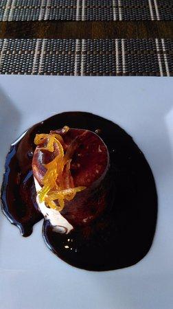 Bracieux, Francia: dessert : un régal de chocolat