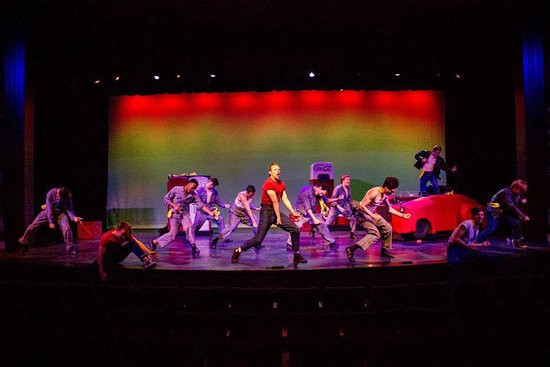 Bigfork Summer Playhouse : Scene from Grease Performance
