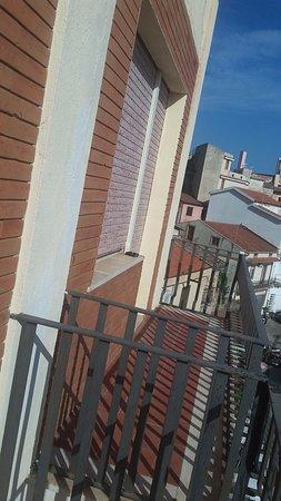 Hotel Panorama Di Sicilia: Balcone della camera
