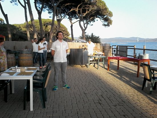 serata con grigliata di pesce in terrazza - Foto di La Madonnina ...