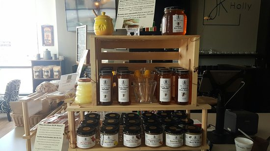 Pittston, Πενσυλβάνια: Great Local Honey sold here