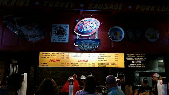Rudy's : Hard to decide! Get a variety!