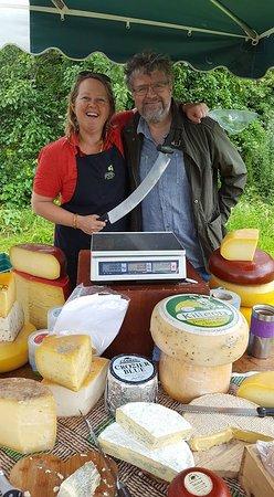 Kinvara, Irland: Local cheese