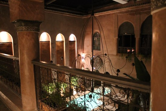 Riad Noir d'Ivoire: View from balcony